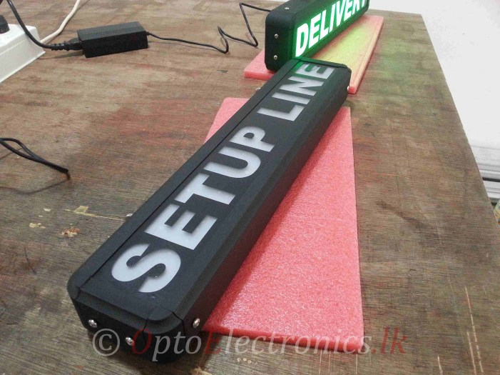 Custom LED Static Signs
