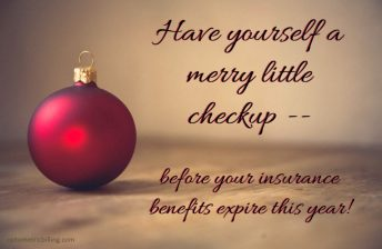 Christmas checkup