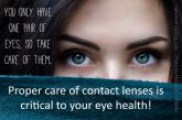 care of contacts