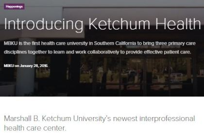 Introducing Ketchum health