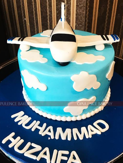 Plane Custom Cake for Childern