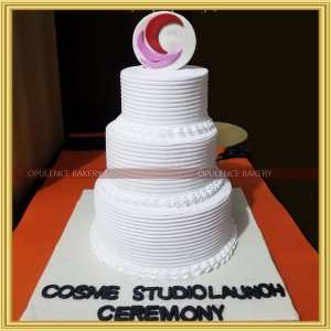 opening ceremony cream cake