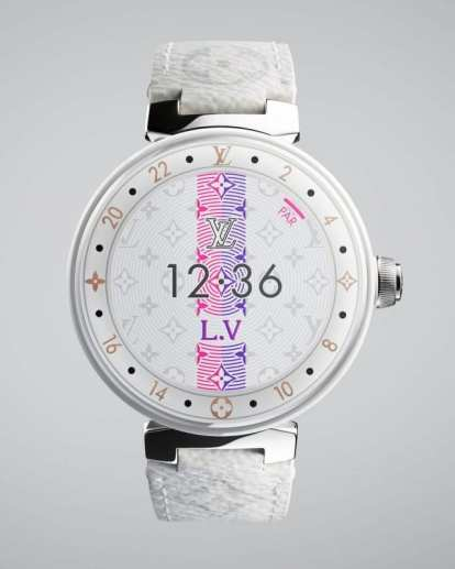 Opulent club Louis Vuitton Smartwatch 5