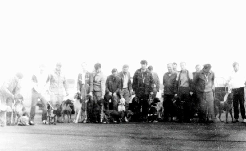 1993.05 Донецкие испытания легавых. Участники.
