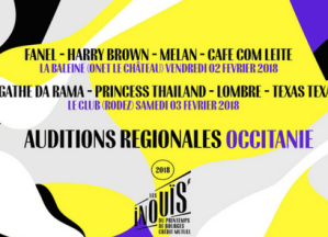 INOUïS 2018 : Auditions Régionales Occitanie