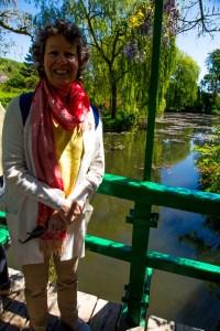 Me in Monet's Garden