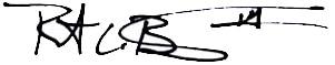 Robert's Signature