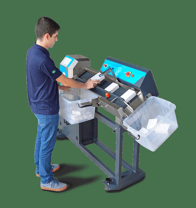 Opus Ink - imprime códigos de barras e textos em mats e meds
