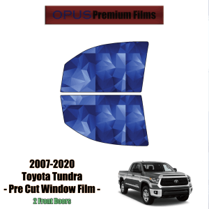 2007 – 2020 Toyota Thundra – 2 Front Windows Precut Window Tint Kit Automotive Window Film
