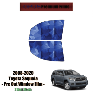 2008 – 2020 Toyota Sequoia – 2 Front Windows Precut Window Tint Kit Automotive Window Film