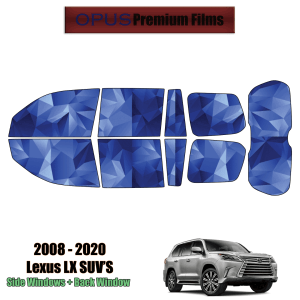 2008 – 2020 Lexus LX – Full SUV Precut Window Tint Kit Automotive Window Film