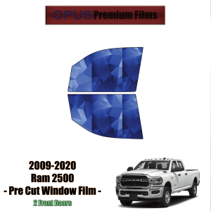 2009 – 2020 RAM 2500 – 2 Front Windows Precut Window Tint Kit Automotive Window Film