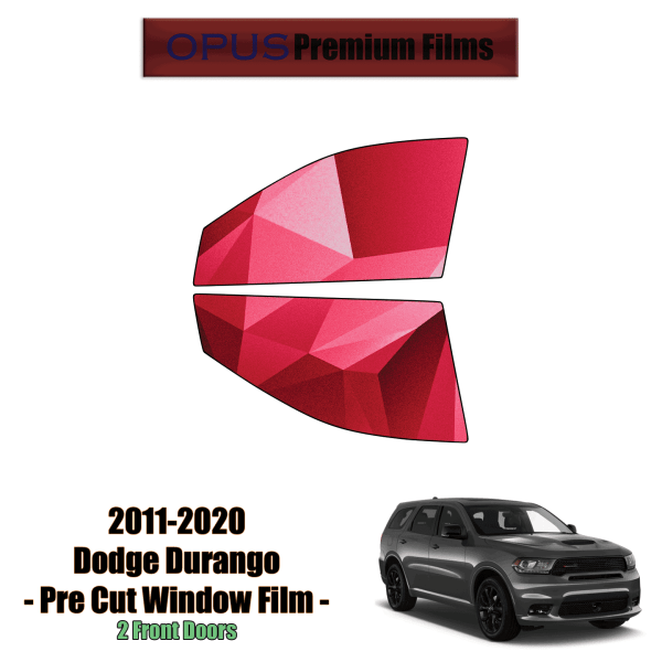 2011 – 2020 Dodge Durango – 2 Front Windows Precut Window Tint Kit Automotive Window Film
