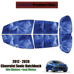 2012 – 2020 Chevrolet Sonic – Full Hatchback Precut Window Tint Kit Automotive Window Film