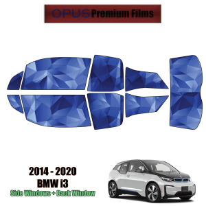 2014 – 2020 BMW i3 – Full Vehicle Precut Window Tint Kit Automotive Window Film