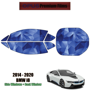 2014 – 2020 BMW i8 – Full Coupe Precut Window Tint Kit Automotive Window Film
