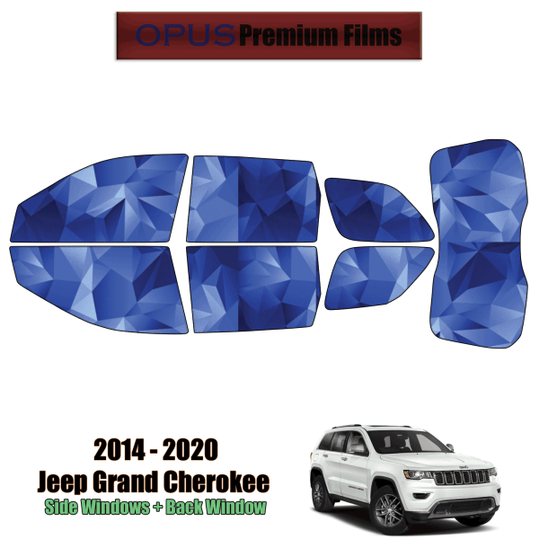 2014 – 2020 Jeep Grand Cherokee – Full SUV Precut Window Tint Kit Automotive Window Film