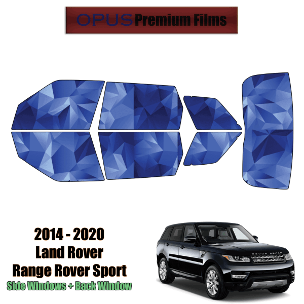 2014 – 2020 Land Rover Range Rover Sport – Full SUV Precut Window Tint Kit Automotive Window Film