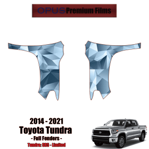2014 – 2021 Toyota Tundra – Precut Paint Protection Kit (PPF) Full Fenders