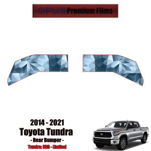 2014 – 2021 Toyota Tundra – Precut Paint Protection Kit (PPF) Rear Bumper