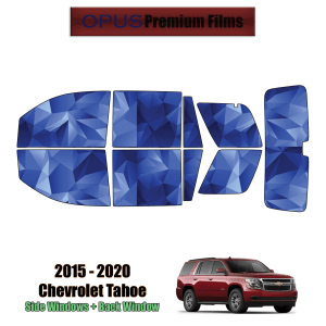 2015 – 2020 Chevrolet Tahoe – Full SUV Precut Window Tint Kit Automotive Window Film