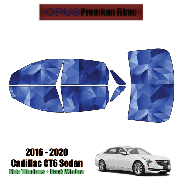 2016 – 2020 Cadillac CT6 – Full Sedan Precut Window Tint Kit Automotive Window Film