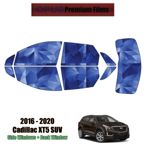 2016 – 2020 Cadillac XT5 – Full SUV Precut Window Tint Kit Automotive Window Film