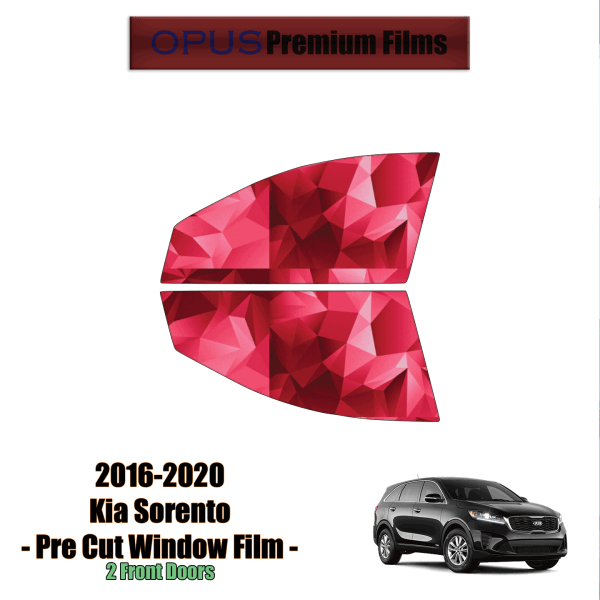 2016 – 2020 Kia Sorento – 2 Front Windows Precut Window Tint Kit Automotive Window Film