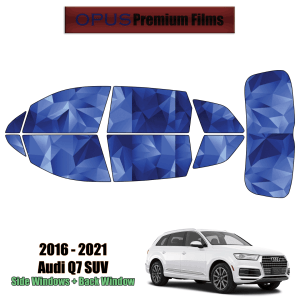 2016 – 2021 Audi Q7 – Full SUV Precut Window Tint Kit Automotive Window Film