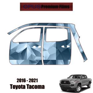2016 – 2021 Toyota Tacoma – Paint Protection Kit PPF ( Full Doors Left Side )