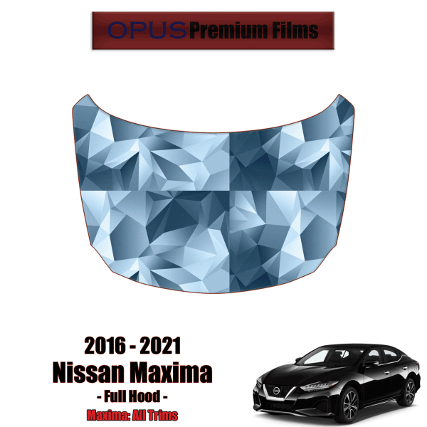 2016 – 2021 Nissan Maxima – Precut Paint Protection Kit (PPF) – Full Hood