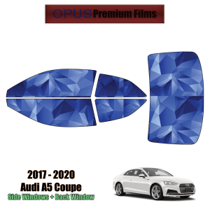 2017 – 2021 Audi A5 – Full Coupe Precut Window Tint Kit Automotive Window Film