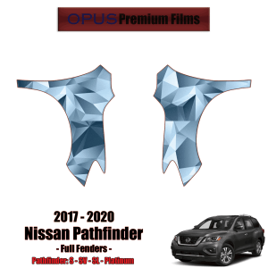 2017 – 2020 Nissan Pathfinder – Precut Paint Protection Kit (PPF) – Full Fenders