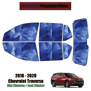 2018 – 2020 Chevrolet Traverse – Full SUV Precut Window Tint Kit Automotive Window Film