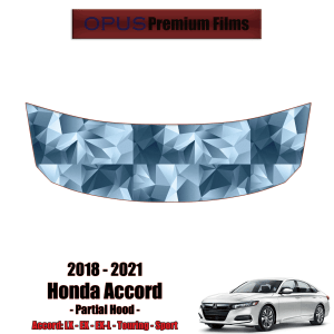 2018 – 2021 Honda Accord – Precut Paint Protection Kit (PPF) – Partial Hood