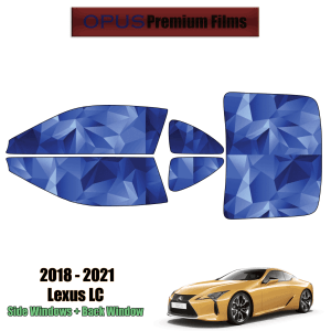 2018 – 2021 Lexus LC – Full Coupe Precut Window Tint Kit Automotive Window Film