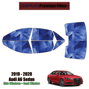 2019 – 2021 Audi A6 – Full Sedan Precut Window Tint Kit Automotive Window Film