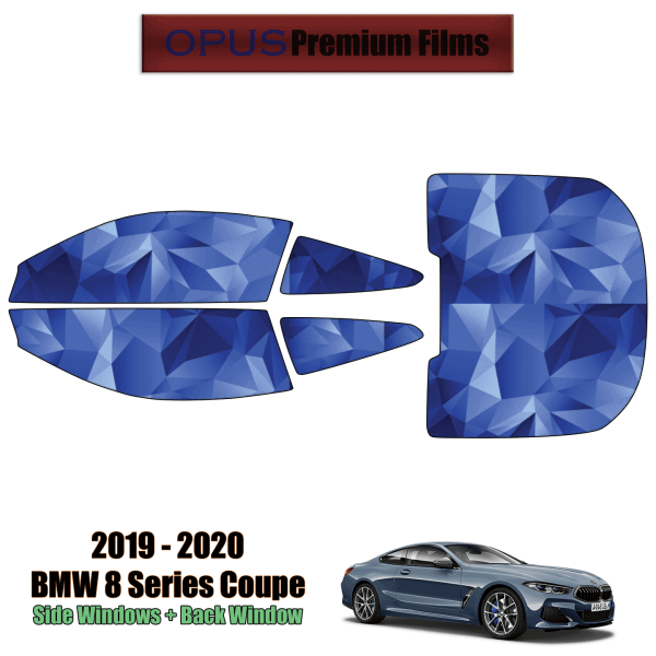 2019 – 2020 BMW 8 Series – Full Coupe Precut Window Tint Kit Automotive Window Film