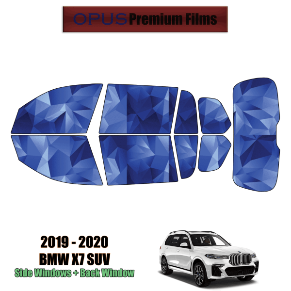 2019 – 2021 BMW X7 – Full SUV Precut Window Tint Kit Automotive Window Film