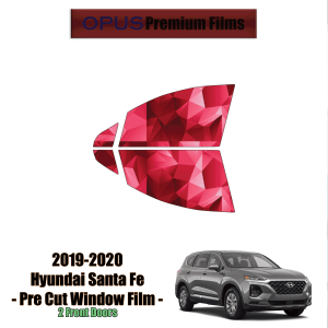 2019 – 2020 Hyundai Santa Fe – 2 Front Windows Precut Window Tint Kit Automotive Window Film