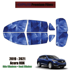 2019 – 2021 Acura RDX – Full SUV Precut Window Tint Kit Automotive Window Film
