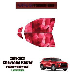 2019 – 2021 Chevrolet Blazer – 2 Front Windows Precut Window Tint Kit Automotive Window Film