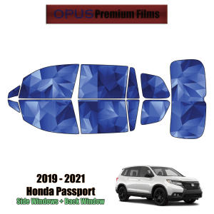 2019 – 2021 Honda Passport – Full SUV Precut Window Tint Kit Automotive Window Film