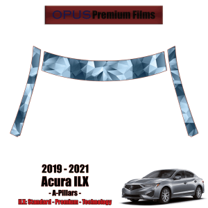 2019 – 2021 Acura ILX – Precut Paint Protection Kit (PPF) A-Pillars + Roof