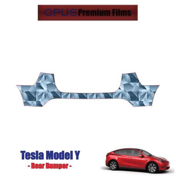 2020 – 2021 Tesla Model Y – Precut Paint Protection Kit (PPF) Rear Bumper