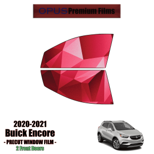 2019 – 2021 Buick Encore 2 Front Windows (PreCut Window Film)