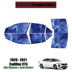 2020 – 2021 Cadillac CT4 – Full Sedan Precut Window Tint Kit Automotive Window Film
