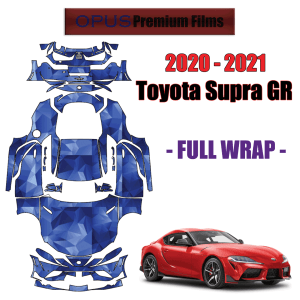 2020 – 2021 Toyota Supra GR Paint Protection Kit (Full Vehicle)