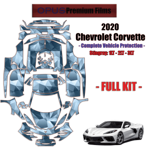 2020 Chevrolet Corvette Stingray- Paint Protection Kit – FULL VEHICLE –