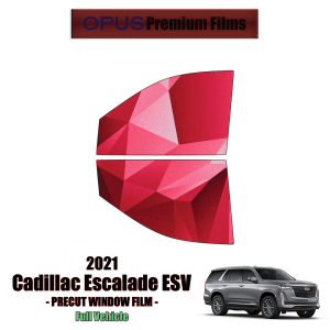 2021 Cadillac Escalade 2 Front Windows (PreCut Window Film)